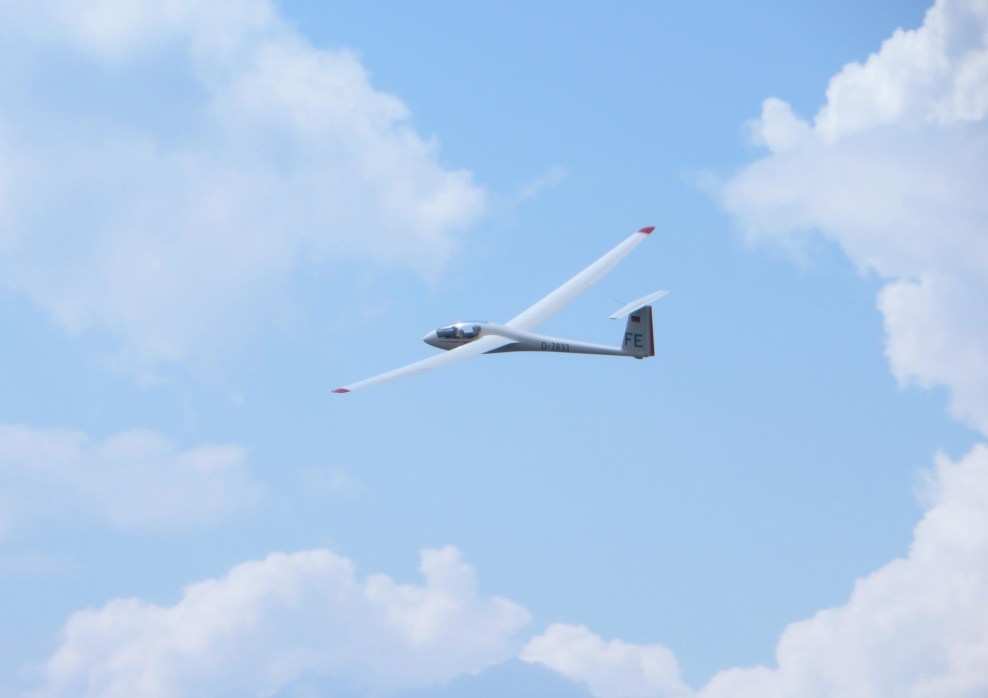 LS4 in der Luft